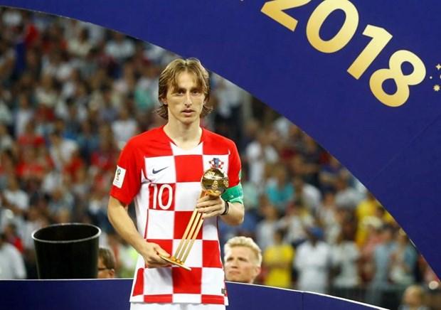Thu quan Croatia Luka Modric gianh danh hieu Qua bong vang hinh anh 1