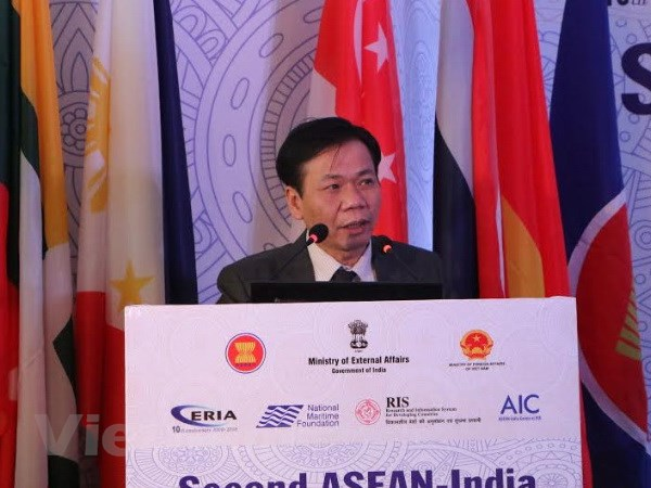 Viet Nam dong chu tri hoi thao ASEAN-An Do ve kinh te bien xanh hinh anh 1