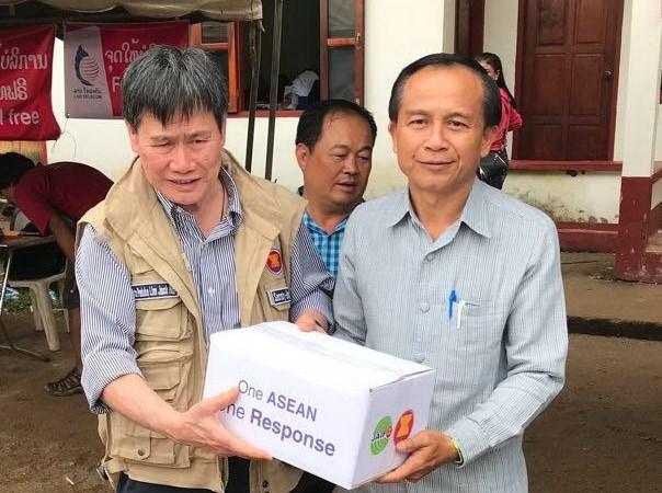Vo dap thuy dien tai Lao: TTK ASEAN tham nguoi dan bi anh huong hinh anh 1