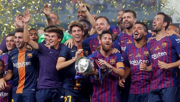 Ha Sevilla, Barcelona lan thu 13 gianh Sieu cup Tay Ban Nha hinh anh 1