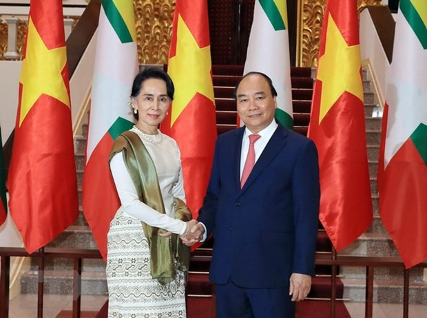 Viet Nam-Myanmar: Doi tac Hop tac Toan dien, cung huong toi tuong lai hinh anh 1