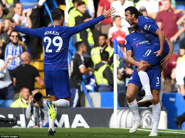 Chelsea thang kich tinh o tran 'dai chien' voi Arsenal hinh anh 1