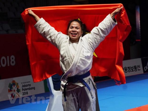 ASIAD 2018: Viet Nam va an tuong lan dau gianh huy chuong Ju-Jitsu hinh anh 1