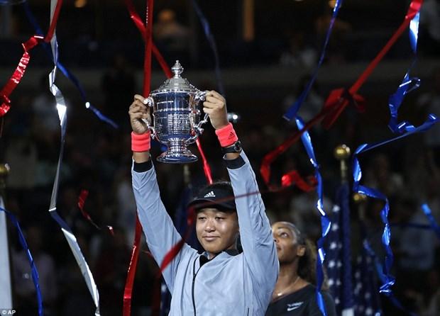 Ha guc Serena Williams, Naomi Osaka lan dau tien vo dich US Open hinh anh 1
