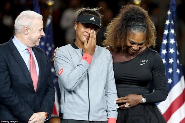Ha guc Serena Williams, Naomi Osaka lan dau tien vo dich US Open hinh anh 2