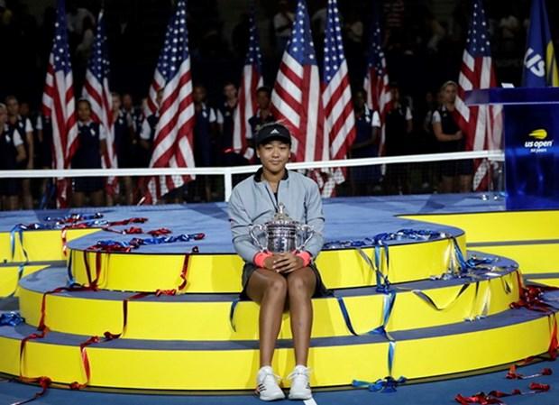 Can canh Naomi Osaka lan dau vo dich US Open sau khi ha Serena hinh anh 1