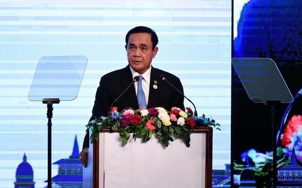 Thai Lan: Thu tuong Prayut nhan duoc ty le ung ho cao nhat hinh anh 1