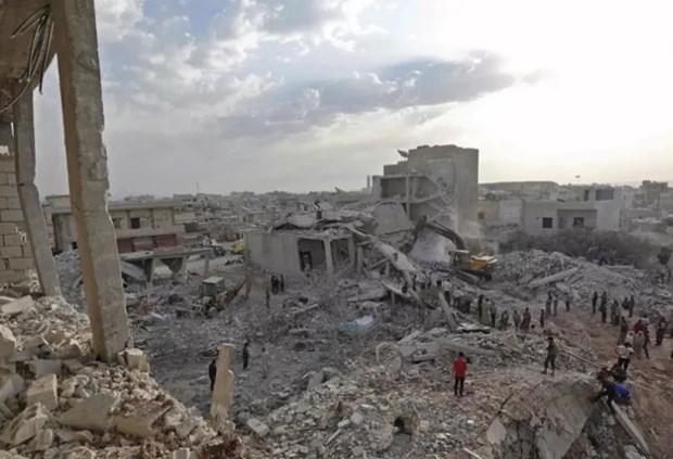 'Lanh dao Nga-Tho Nhi Ky bat dong ve giai quyet tinh hinh o Idlib' hinh anh 1