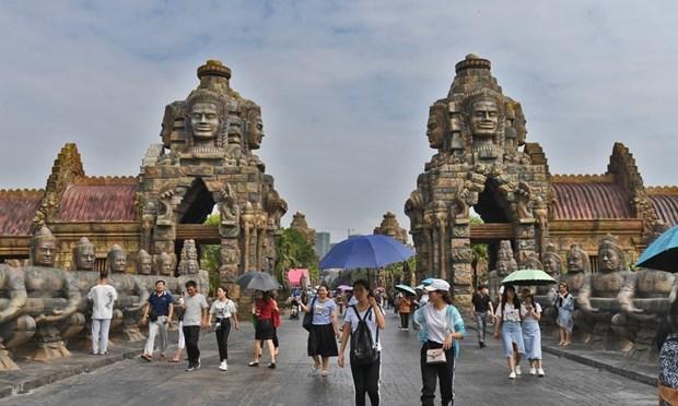 Den Angkor Wat noi tieng Campuchia bat ngo xuat hien o Trung Quoc hinh anh 1