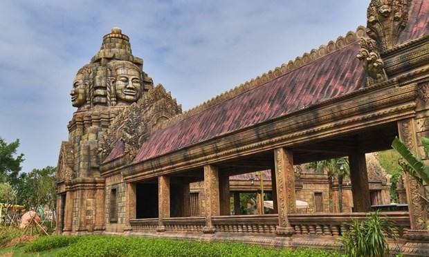 Den Angkor Wat noi tieng Campuchia bat ngo xuat hien o Trung Quoc hinh anh 3