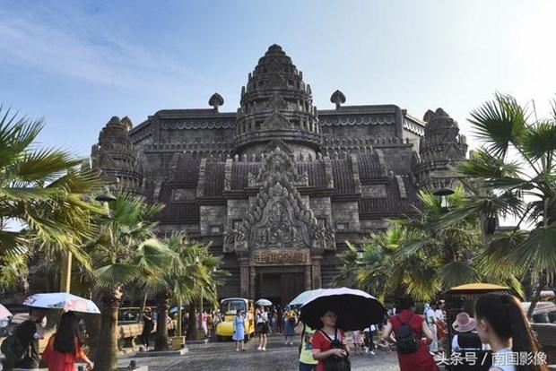 Den Angkor Wat noi tieng Campuchia bat ngo xuat hien o Trung Quoc hinh anh 4