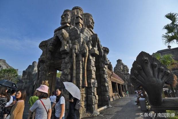 Den Angkor Wat noi tieng Campuchia bat ngo xuat hien o Trung Quoc hinh anh 6