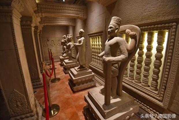 Den Angkor Wat noi tieng Campuchia bat ngo xuat hien o Trung Quoc hinh anh 7