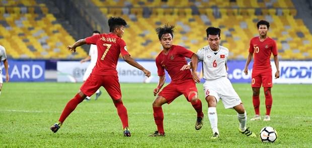 Hoa U16 Indonesia, doi tuyen U16 Viet Nam mat quyen tu quyet hinh anh 1