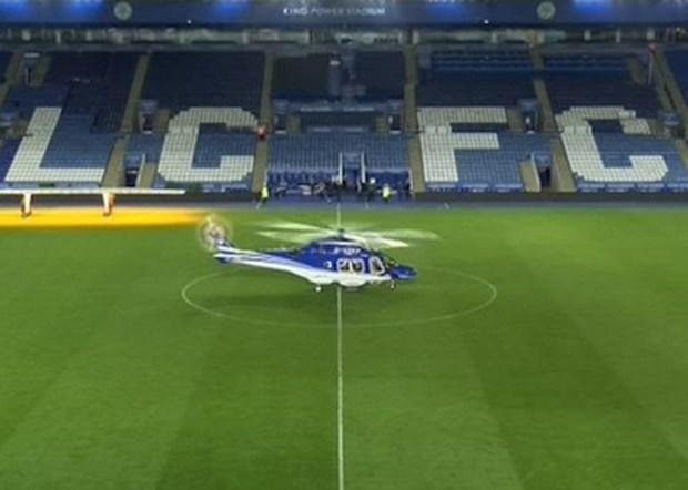 Video khoanh khac truc thang cho chu tich Leicester gap nan hinh anh 1