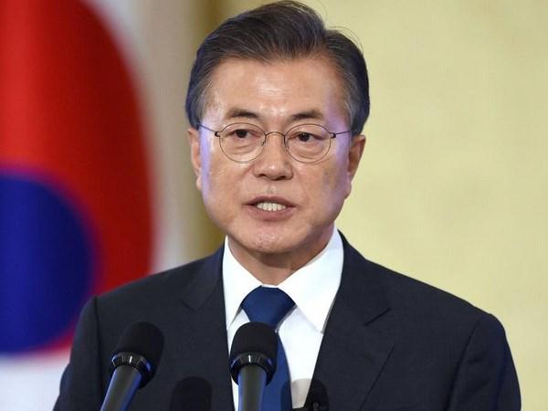 Tong thong Han Quoc Moon Jae-in bat dau cong du Dong Nam A hinh anh 1