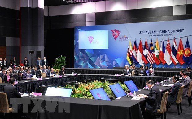ASEAN-Trung Quoc thong qua Tam nhin Quan he doi tac chien luoc 2030 hinh anh 1