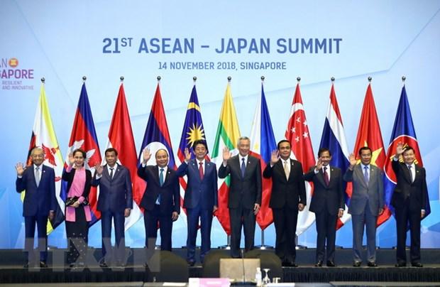 Thu tuong du Hoi nghi Cap cao ASEAN-Nhat Ban lan thu 21 hinh anh 1
