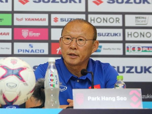 HLV Park Hang-seo: Toi da len dau phap cho tran gap Malaysia hinh anh 1