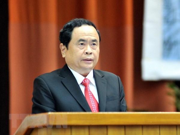 Chu tich MTTQ Viet Nam chuc mung 94 nam Khai dao Cao Dai hinh anh 1