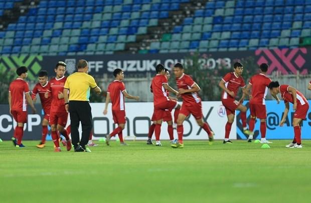 Myanmar vs Viet Nam 0-0: Viet Nam mat chien thang vi trong tai hinh anh 2