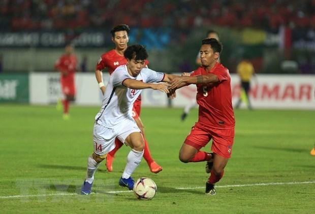 Myanmar vs Viet Nam 0-0: Viet Nam mat chien thang vi trong tai hinh anh 14