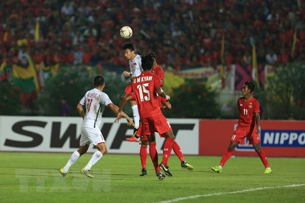 Myanmar vs Viet Nam 0-0: Viet Nam mat chien thang vi trong tai hinh anh 11
