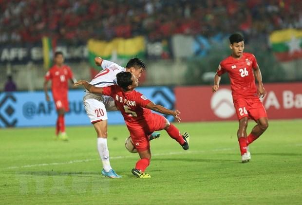 Myanmar vs Viet Nam 0-0: Viet Nam mat chien thang vi trong tai hinh anh 1