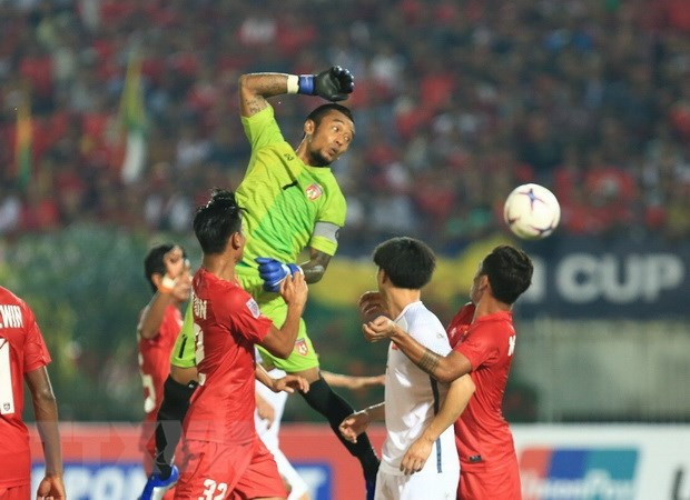 Myanmar vs Viet Nam 0-0: Viet Nam mat chien thang vi trong tai hinh anh 13