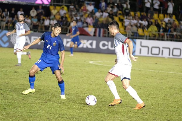 AFF Suzuki Cup: Thai Lan chia diem, Singapore thang huy diet hinh anh 1