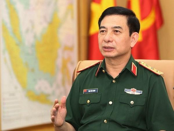 Doan dai bieu Quan su cap cao Quan doi Nhan dan Viet Nam tham Thai Lan hinh anh 1