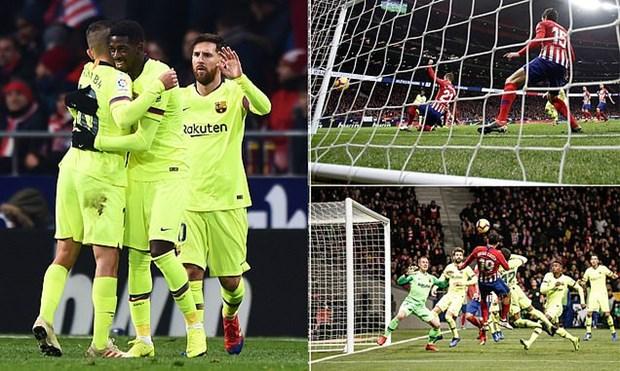 Real Madrid thua soc, Barcelona va Atletico chia diem kich tinh hinh anh 2