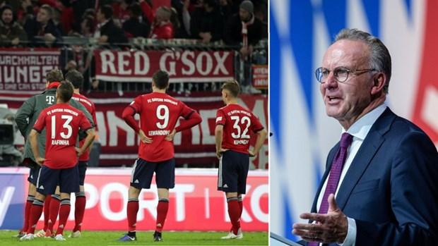 Chu tich Hoeness bi la o ngay tai Dai hoi thuong nien Bayern e.V 2018 hinh anh 4