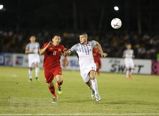 Lich truc tiep ban ket luot ve AFF Cup: Viet Nam vs Philippines hinh anh 1
