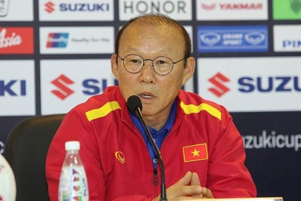 HLV Park Hang-seo: Tuyen Viet Nam khong quen bai hoc nam 2014 hinh anh 1