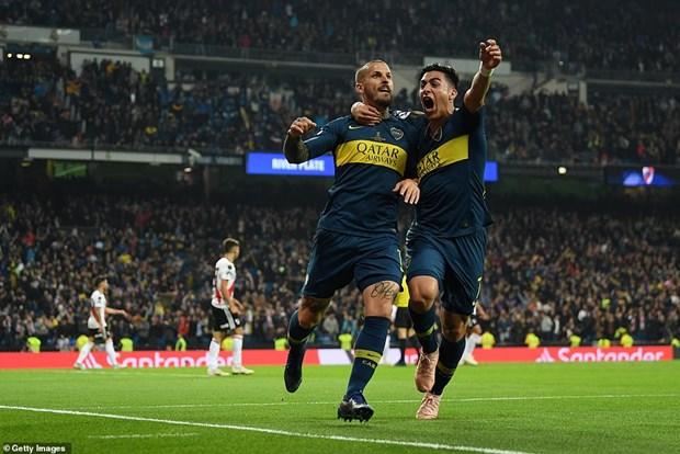 Copa Libertadores: Ha kinh dich Boca Juniors, River Plate len ngoi hinh anh 2