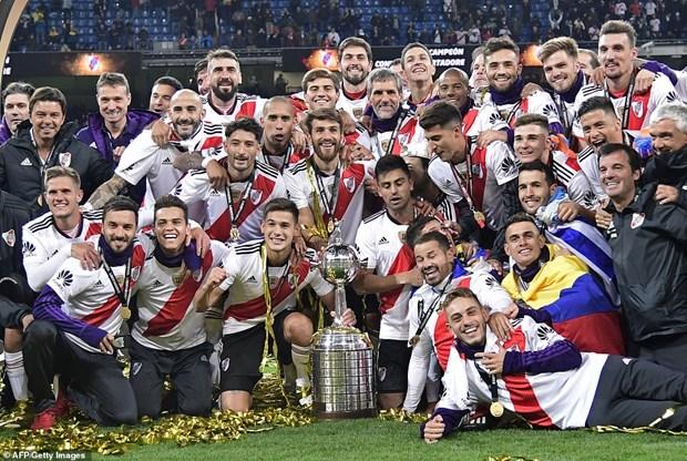 Copa Libertadores: Ha kinh dich Boca Juniors, River Plate len ngoi hinh anh 1