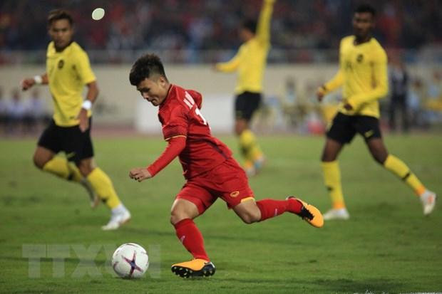 Quang Hai tro thanh Cau thu xuat sac nhat AFF Suzuki Cup 2018 hinh anh 1