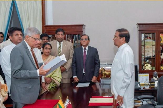 Sri Lanka: Ong Ranil Wickremesinghe tuyen the nham chuc thu tuong hinh anh 1