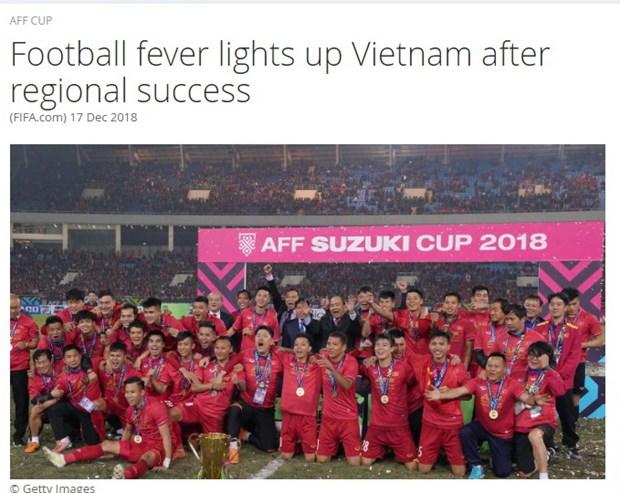 FIFA: Ky nguyen thanh cong chua tung co cua bong da Viet Nam hinh anh 1