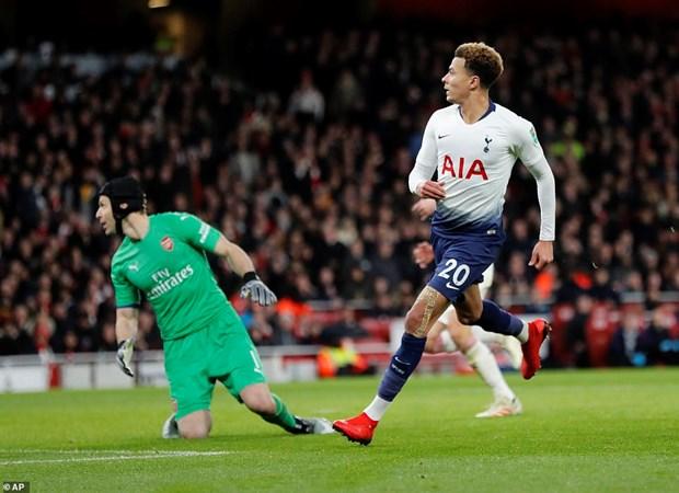 Danh bai Arsenal, Tottenham dai chien Chelsea o ban ket EFL Cup hinh anh 1