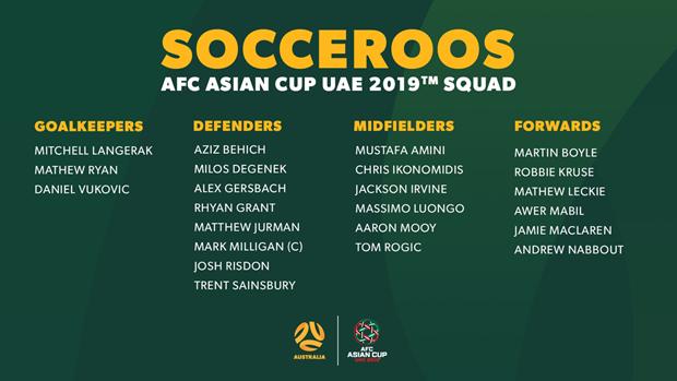Nhieu doi bong chot danh sach du vong chung ket Asian Cup 2019 hinh anh 7