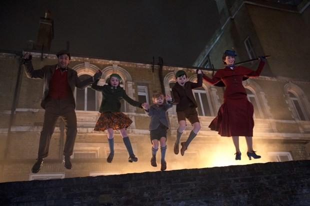 Mary Poppins Returns dua khan gia vao khong khi co tich va nhac kich hinh anh 1