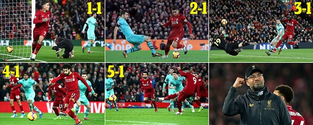 Liverpool thang huy diet Arsenal 5-1, Tottenham thua soc hinh anh 2