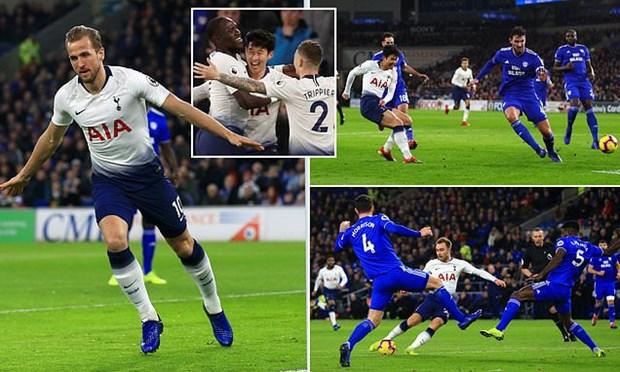 Arsenal thang huy diet ngay dau nam 2019, Tottenham tro lai top 2 hinh anh 2