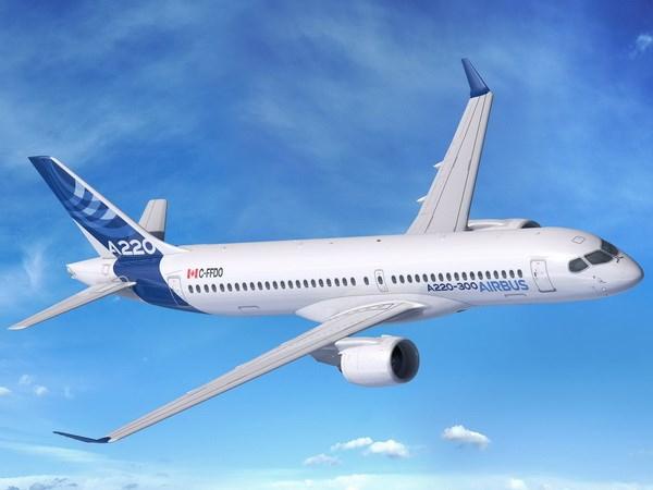 Airbus thong qua thuong vu ban 120 may bay A220 tri gia 11 ty USD hinh anh 1