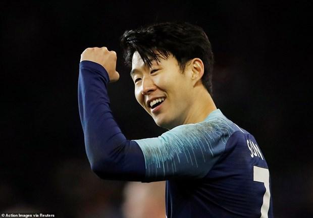 Son Heung-Min den Asian Cup 2019 bang phong do vo cung an tuong hinh anh 1