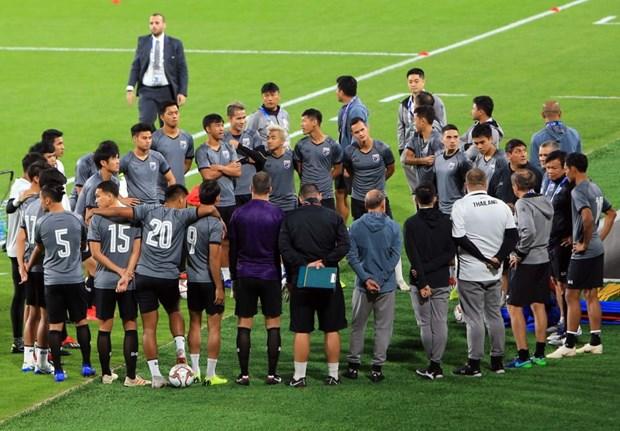 Tuyen Thai Lan va An Do 'tuyen chien' truoc tran ra quan Asian Cup hinh anh 1