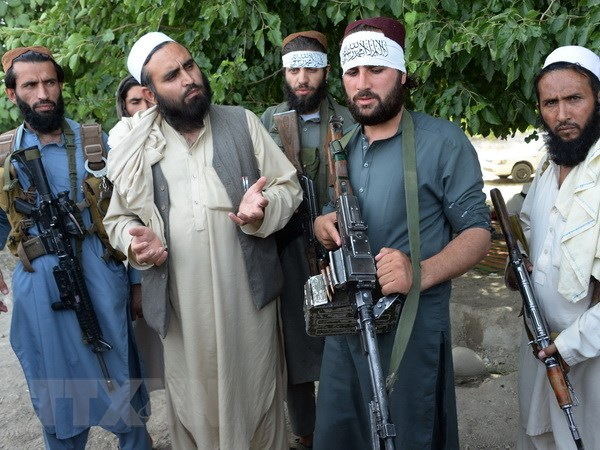 Phien quan Taliban muon thay doi dia diem hoa dam voi My hinh anh 1