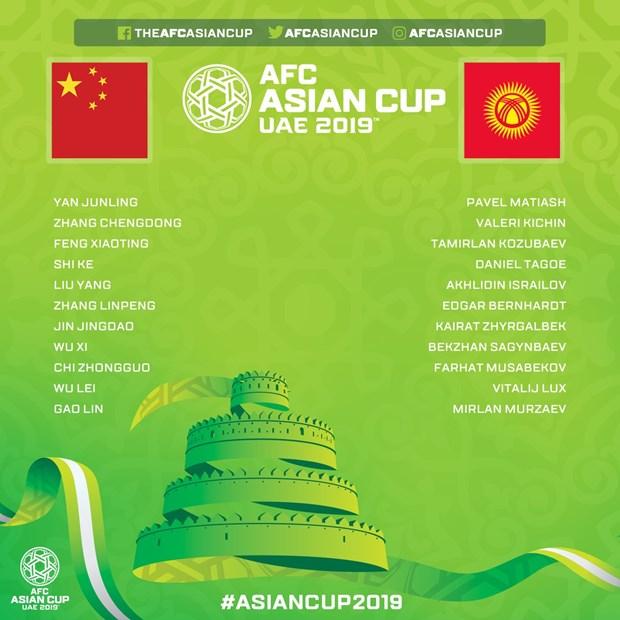 Link xem truc tiep Asian Cup 2019: Trung Quoc - Kyrgyzstan hinh anh 2